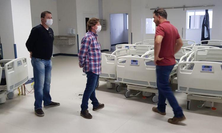 Coronavírus: IMA concede licença para a nova ala do hospital em Lages